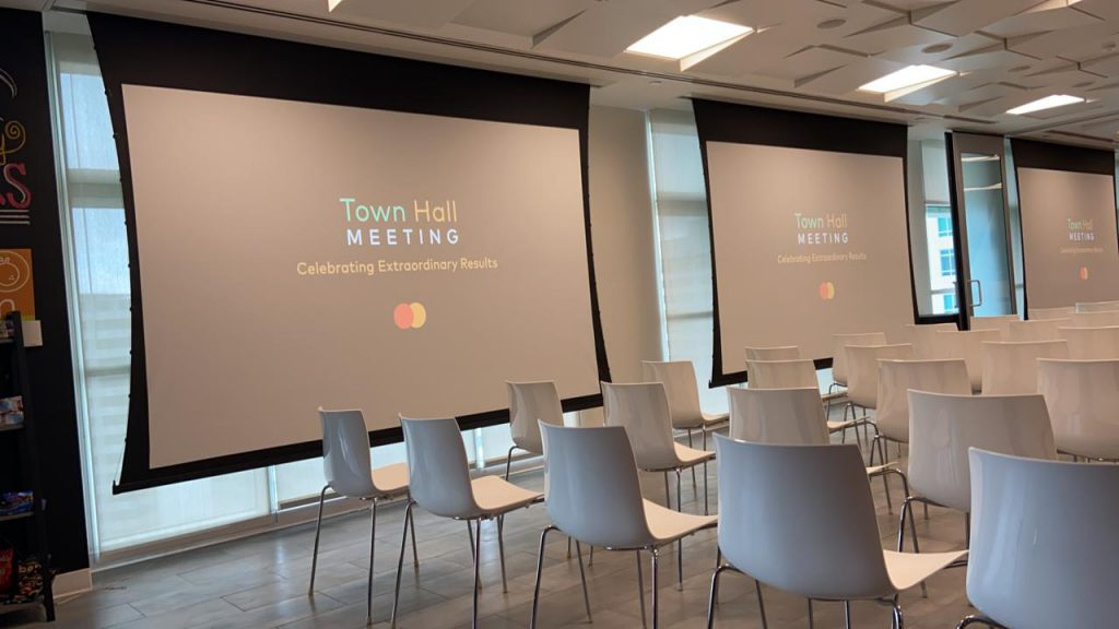 Internal communication for Mastercard Miami
