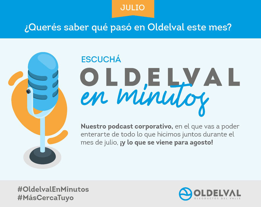 "Foto caso 1 Oldelval Podcast 1 - We've launched the podcast ""Oldelval in minutes""!"