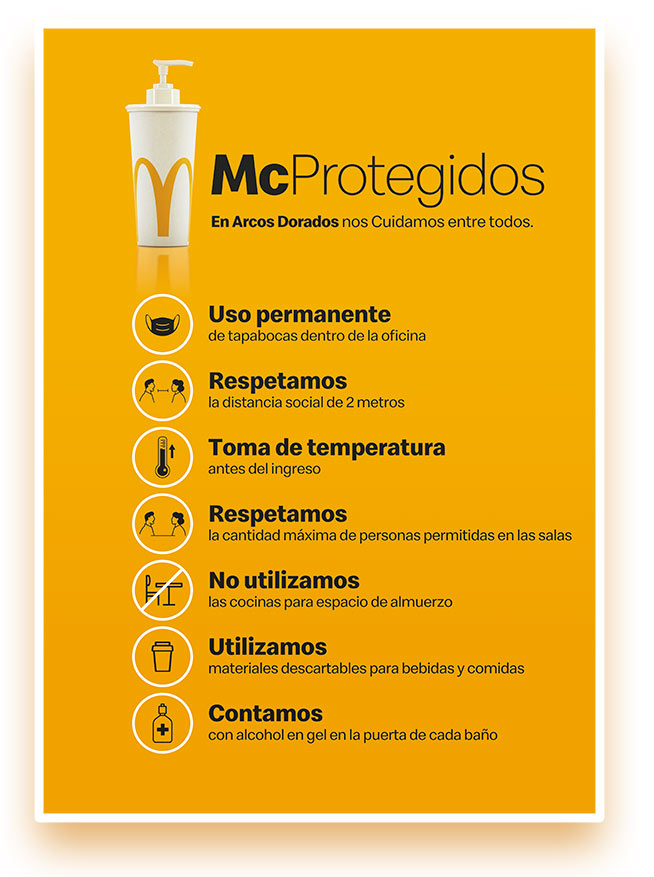 arcos dorados MCprotegidos 1 - Pandemic internal communication plan for Arcos Dorados