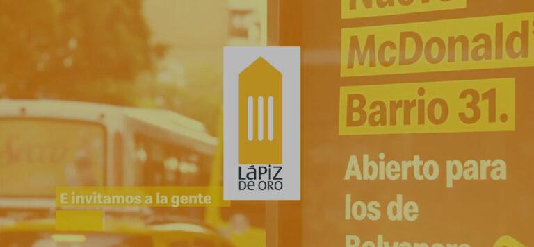 fondo lapiz 768x356 - We've won a Lápiz de Oro award with McDonald's: check out the winning case!